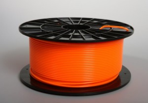 PLA filament 2,90 mm, orange, spool 1 kg
