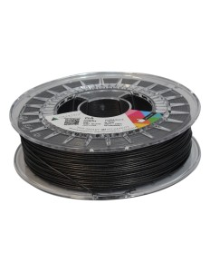 Czarny z brokatem filament PLA 1,75 mm, 0,75 kg