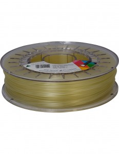 PVA water soluble filament, 1,75 mm, natural, 0,75 kg