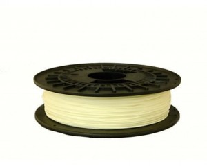 Rubber filament TPE32D 1,75 mm, natural, spool 0,5 kg