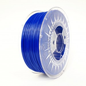 Rubber filament 1,75 mm, blue, spool 1 kg
