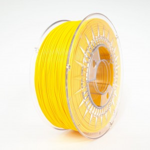 Rubber filament 1,75 mm, yellow, spool 1 kg