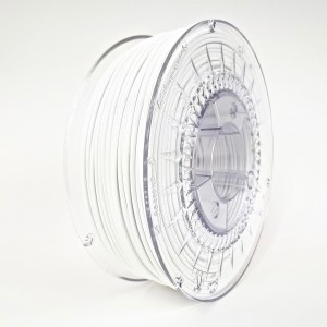 Filament PET 2,85 mm biały - 1 kg filamentu na szpuli