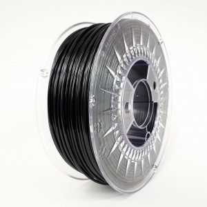 Filament PET 2,85 mm czarny - 1 kg filamentu na szpuli