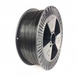 Filament PET 1,75 mm czarny - 2 kg filamentu na szpuli