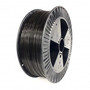 ABS+ filament 1,75 mm, black, spool 2 kg
