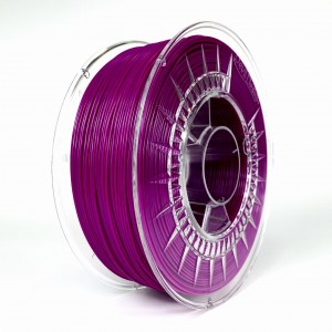 Filament PET 1,75 mm purpurowy - 1 kg filamentu na szpuli