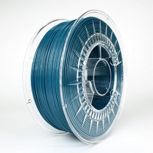 Filament PET 1,75 mm morski - 1 kg filamentu na szpuli