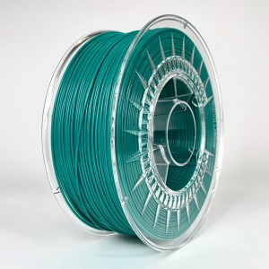 PET filament, 1,75 mm, emerald green, spool 1 kg