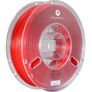 PolyFlex filament 1,75 mm, red, spool 0,75 kg