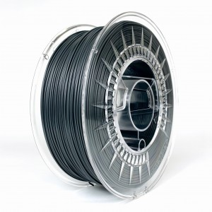 PLA filament 1,75 mm, dark gray, spool 1 kg
