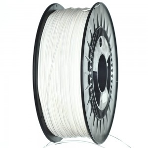 Biały filament PET 1,75 mm, 1 kg