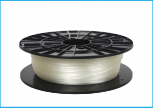 PVA water soluble filament, 1,75 mm, natural, spool 0,5 kg