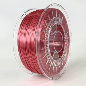 SILK filament, 1,75 mm, red, 1 kg