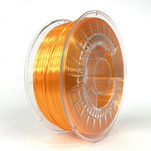SILK filament, 1,75 mm, bright orange, 1 kg