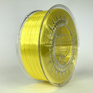 SILK filament, 1,75 mm, bright yellow, 1 kg