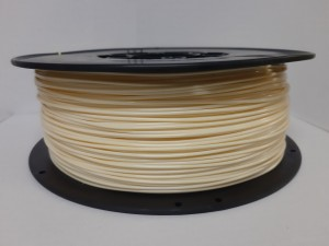 Beżowy filament PLA  1,75 mm, 1 kg