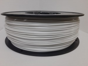 PLA filament 1,75 mm, bright gray, spool 1 kg