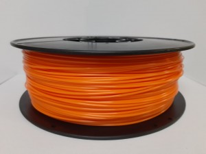 PET filament, 1,75 mm, orange, spool 1 kg