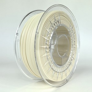 PLA matt filament 1,75 mm, natural, spool 1 kg