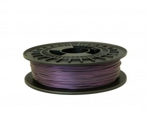 Fioletowy metaliczny filament gumowy TPE88A 1,75 mm, 0,5 kg