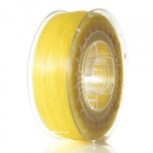 ABS-T filament 1,75 mm, bright yellow transparent, spool 1 kg