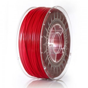 ABS+ filament 1,75 mm, raspberry red, spool 1 kg
