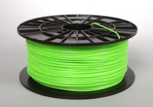 PLA filament 2,90 mm, green-yellow, spool 1 kg