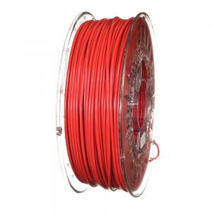 PLA filament 2,85 mm, red, spool 1 kg