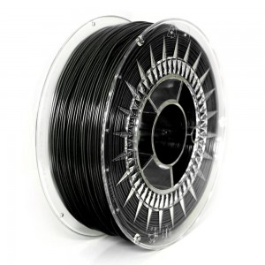 Czarny filament ABS+ 1,75 mm, 1 kg