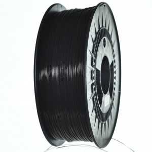 ABS+ filament 1,75 mm, black, spool 1 kg