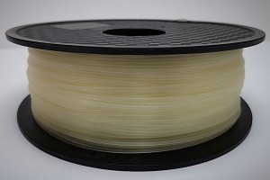 PLA filament 2,85 mm, clear / transparent, spool 1 kg