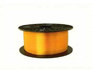 Filament PET 1,75 mm transparentny żółty - 1 kg