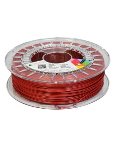 PLA filament 1,75 mm, red with glitter, 0,75 kg