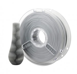 PLA PolyPlus filament 3,00 mm, gray, spool 0,75 kg