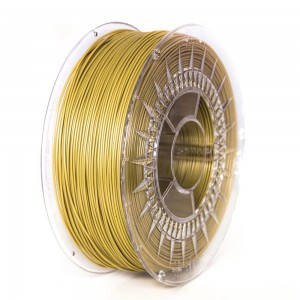 ABS+ filament 1,75 mm, gold, spool 1 kg