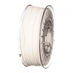 PLA filament 2,85 mm, white, spool 1 kg
