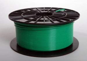 Zielony filament ABS 1,75 mm (1 kg filamentu na szpuli)