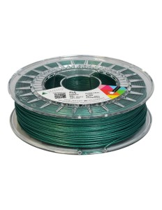 PLA filament 1,75 mm, green with glitter, 0,75 kg