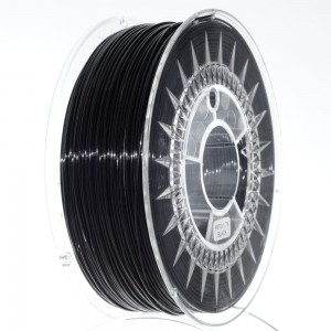 Filament PET 1,75 mm czarny, 1 kg