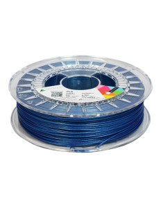 PLA filament 1,75 mm, blue with glitter, 0,75 kg