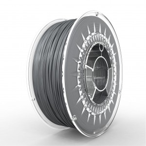ABS+ filament 1,75 mm, aluminium, spool 1 kg