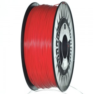 ABS+ filament 1,75 mm, red, spool 1 kg