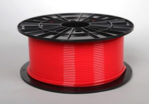 ABS filament 2,90 mm, red, spool 1 kg
