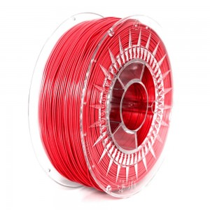 Rubber filament 1,75 mm, red, spool 1 kg