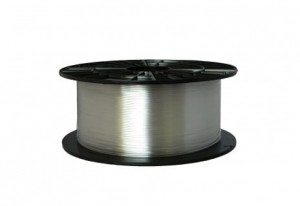 Filament PET 2,90 mm transparentny - 1 kg filamentu na szpuli