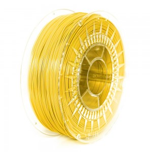 PET filament, 1,75 mm, bright yellow, spool 1 kg