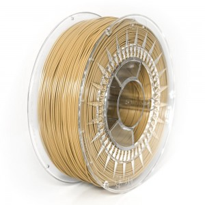Filament PET 1,75 mm beżowy - 1 kg filamentu na szpuli