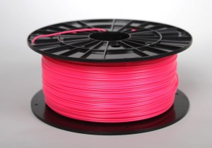 ABS filament 2,90 mm, pink (telemagenta), spool 1 kg