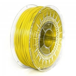 ABS+ filament 1,75 mm, yellow, spool 1 kg